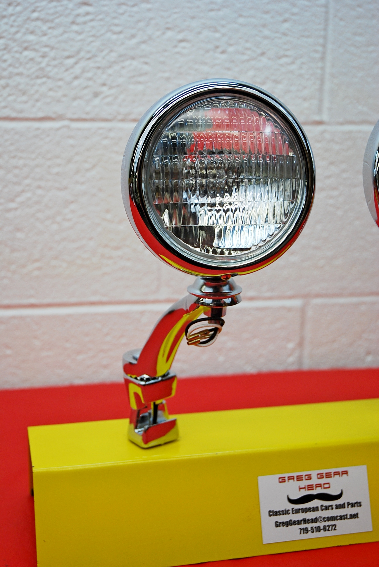 Single 5 Quot Vintage Style Fog Light Cear Or Amber And Clamp